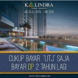 Hanya di The Kalindra Malang, Ukuran Apartemen Studionya Sangat Luas