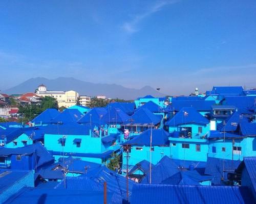 Kampung Biru Arema. (Foto: Explore Wisata)