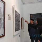 Macet dan Panas, Mahasiswa Kritisi Kondisi Kota Malang lewat Karya Seni