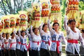 Suasana kebahagiaan di pulau Bali, Indonesia. (Foto: istimewa)