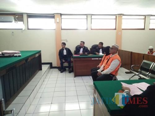 Suasana saat sidang kasus YPIM (Anggara Sudiongko/MalangTIMES)