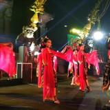 Tari Beskalan menjadi pembuka event Malang Artnival 2019 yang digelar Disbudpar Kota Malang. (Foto: Nurlayla Ratri/MalangTIMES)