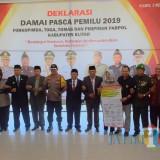Deklarasi Damai digelar di Pendopo Sasana Adi Praja Kabupaten Blitar