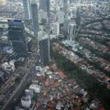 Kepadatan ibu kota Indonesia, Jakarta. (Foto: instagram @jokowi)
