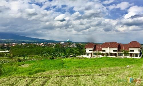 Area rencananya bakal dibangun shelter PMKS di komplek rumah veteran di Jalan Sultan Hasan Halim, Kelurahan Sisir, Kecamatan Batu. (Foto: Irsya Richa/MalangTIMES)