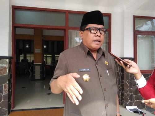 Plt Wali Kota Blitar Santoso.(Foto :  Team BlitarTIMES)