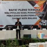 Rekap Suara Hasil Pemilu 2019 Mulai Dilangsungkan KPU Kota Malang
