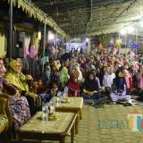 Bupati Jember dr. Hj. Faida MMR saat menghadiri acara Imtihan di Pondok Pesantren Al Azhar Muktisari (foto : Istimewa / Jagim TIMES)