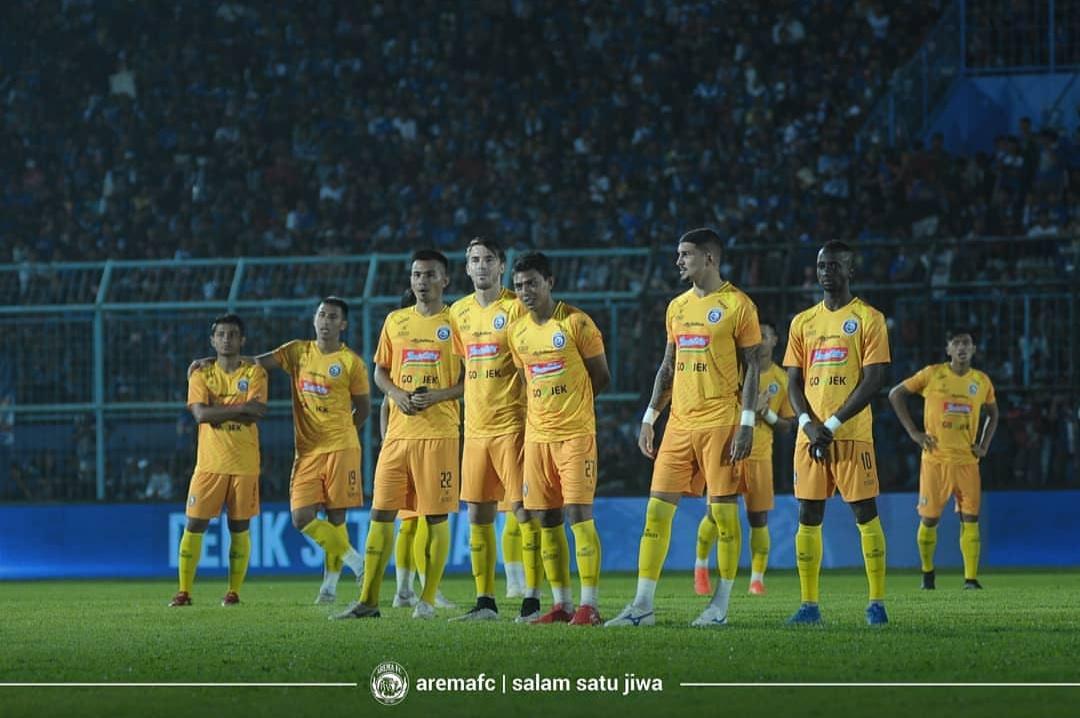 Skuat Arema FC untuk Liga 1 2019. (official Arema FC)