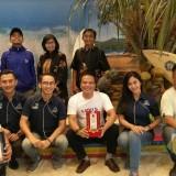 Sabet juara II stand terbaik, Disparbud Kabupaten Malang usung konsep pantai Wedi Awu di acara MITF 2019 di Surabaya (Disparbud)