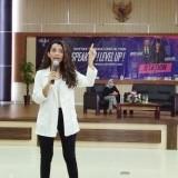 Sambangi UIN Malang, Shafira Umm Berbagi Rahasia Sukses menjadi Presenter TV