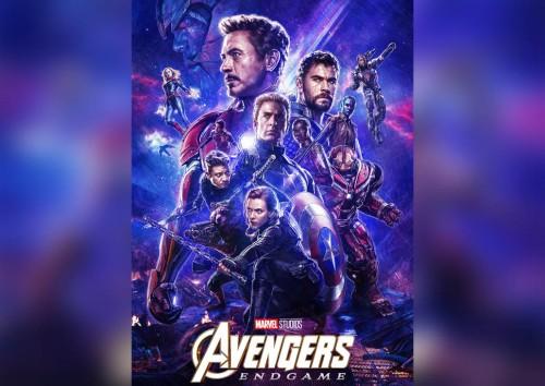 Salah satu poster film Avengers: Endgame. (foto: twitter @avengers