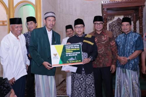 Safari Ramadan perdana Pemerintah Kota Malang di Masjid Al-Hidayah Pandanwangi Kota Malang (Pipit Anggraeni/MalangTIMES).