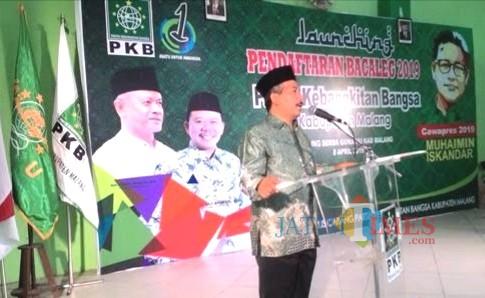 Suasana saat pendaftaran bacaleg PKB di Pemilu 2019 lalu. Dimana PKB ternyata meraih 12 kursi parlemen dan bersiap usung calon bupatinya sendiri (Nana)