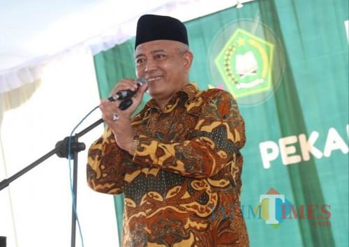 Wabup Malang Sanusi siap berkeliling ke berbagai wilayah dalam Safari Ramadan (Humas Kabupaten Malang)