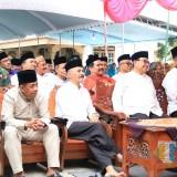 Pasiter Kapten Cba Chudori mewakili Dandim 0808/Blitar dalam Safari Ramadan di  Srengat