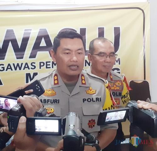 Kapolres Malang Kota AKBP Asfuri (Arifina Cahyanti Firdausi/MalangTIMES)