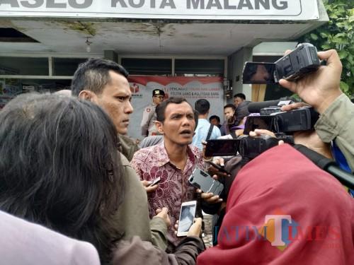 Komisioner Bawaslu Rusmifahrizal Rustam (Arifina Cahyanti Firdausi/MalangTIMES)