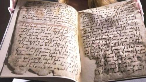 Manuskrip Alquran tertua yang melintasi waktu dan dibumbui transaksi jual beli (Ist)