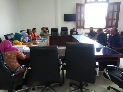 Hearing pedagang Pasar Takjil Soehat dengan Komisi D DPRD Kota Malang (Istimewa).