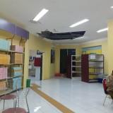 Atap Jebol, Netizen Tanyakan Pembenahan Perpustakaan Kota Malang Ke Wali Kota Malang