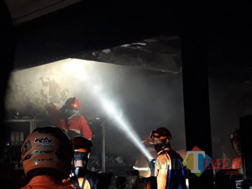 Salah satu kejadian kebakaran di Kota Malang. (Foto: BPBD Kota Malang)