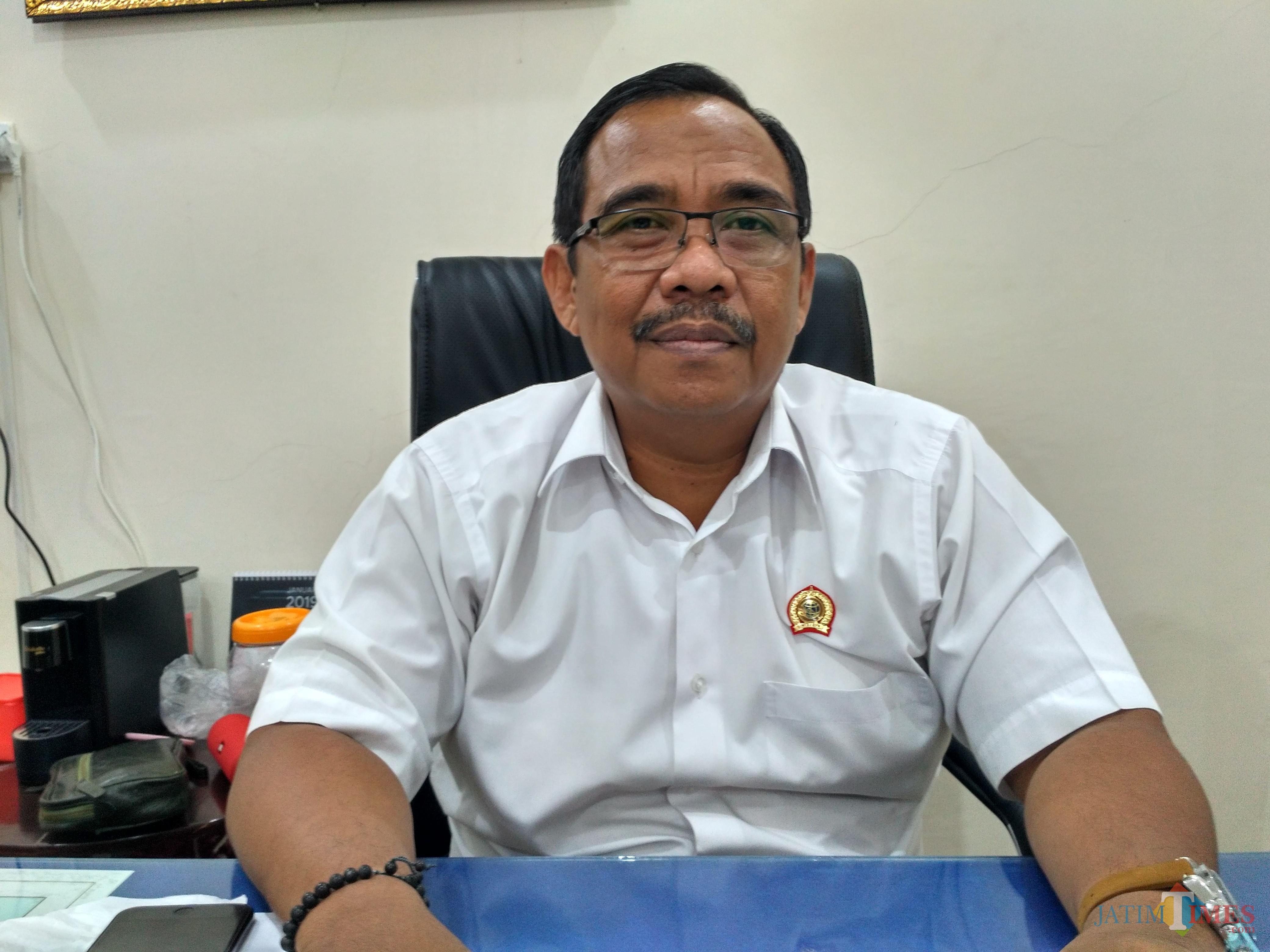 Kepala ATR / BPN Kabupaten Tulungagung Eko Jauhari / Foto : Anang Basso / Tulungagung TIMES