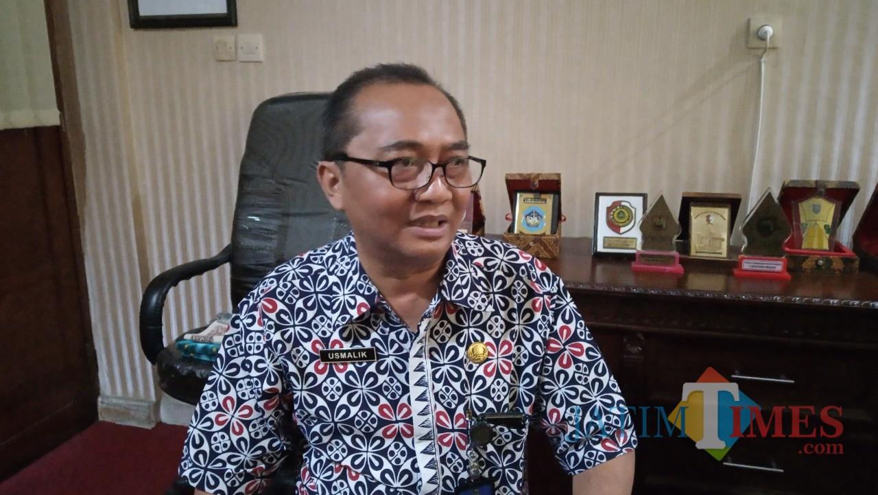 Kabag Pemerintahan Setda Kab. Tulungagung,  Usmalik (foto : Joko Pramono/Jatim Times)
