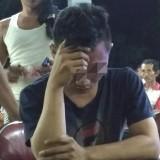 Fahrul pria yang ditangkap warga saat sahur di rumah Harti di desa Sambitan Pakel saat Sahur (Foto : Istimewa / TulungagungTIMES)