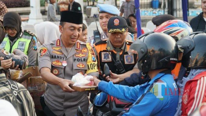 Kapolrestabes Surabaya Kombespol Sandi Nugroho