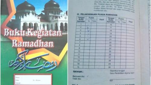 isi buku kegiatan ramadhan