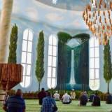 Ada Air Terjun Hingga Nuansa Alam Bisa Dirasakan di Masjid Turki Ini