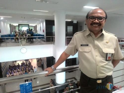 Dr Purnadi Kepala Bapenda Kabupaten Malang (Nana)
