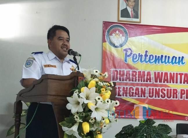 Kadishub Pemkab Jember, Drs. Hadi Mulyono M.Si (foto : istimewa / Jatim TIMES)