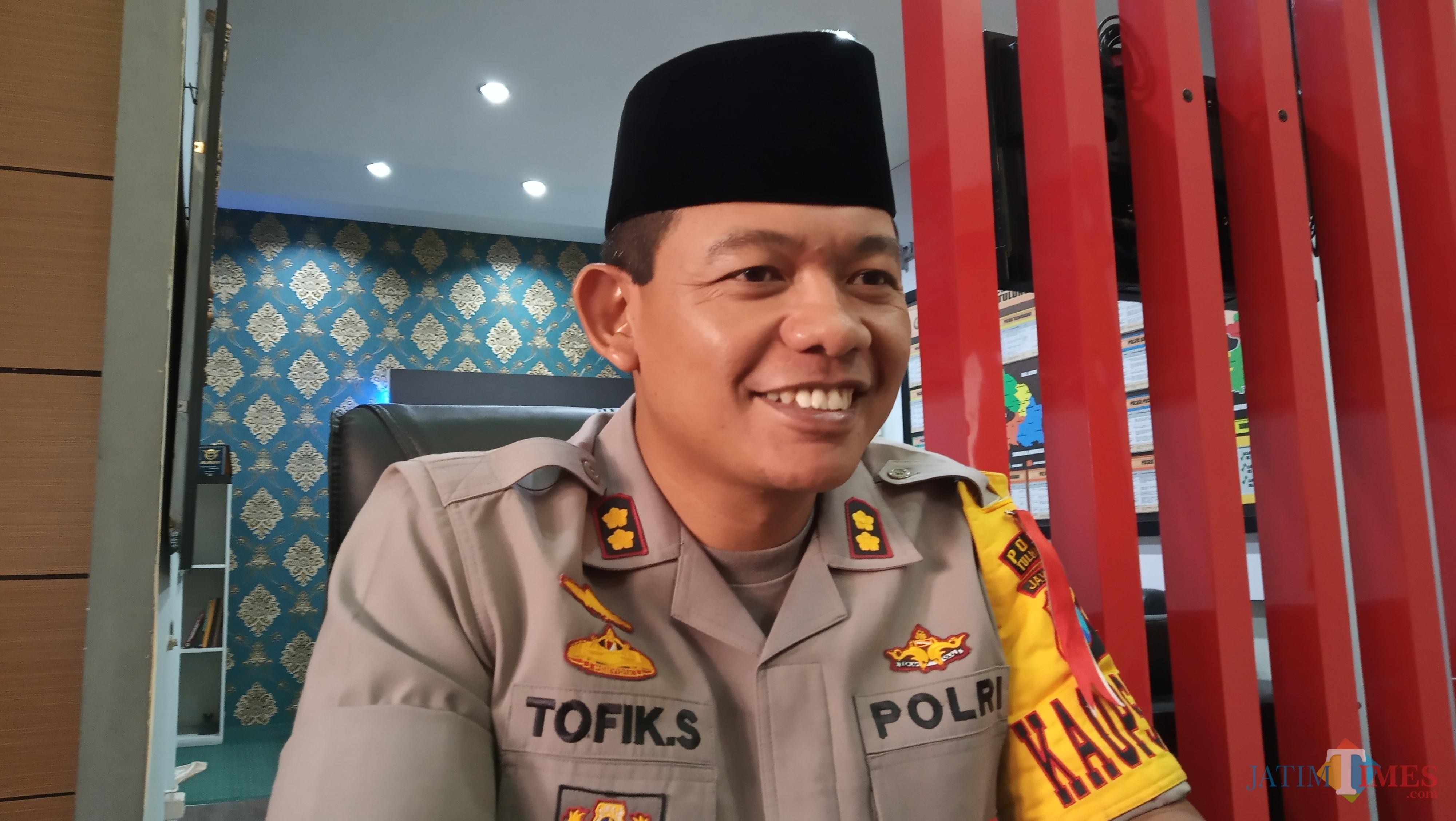 Kapolres Tulungagung, AKBP Tofik Sukendar  (foto :  joko pramono/jatimtimes)