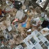 Unggahan foto potongan tubuh korban mutilasi di Pasar Besar Malang. (Foto: Istimewa)