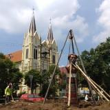 Kuatkan Jati Diri Kota Heritage, Rekonstruksi Taman Chairil Anwar Telan Dana 166 Juta