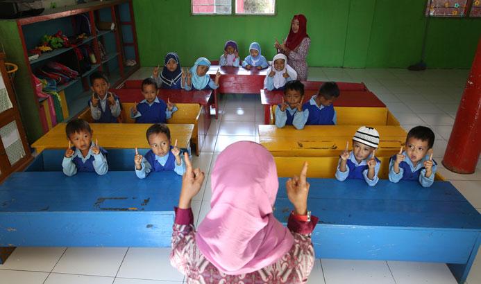 Ilustrasi siswa RA. (Foto istimewa)