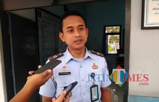 Kasi Binadik Lapas Tulungagung, Dedi Nugroho (foto : Joko Pramono/JatimTIMES)