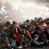 Salah satu pemandangan aksi demonstrasi Mei 98.(Foto : DW)