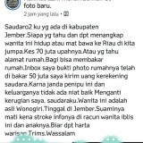 Salah satu postingan akun bernama Rahmat Ilahi yang bikin heboh jagad maya di Jember. (foto : istimewa / Jatim TIMES)