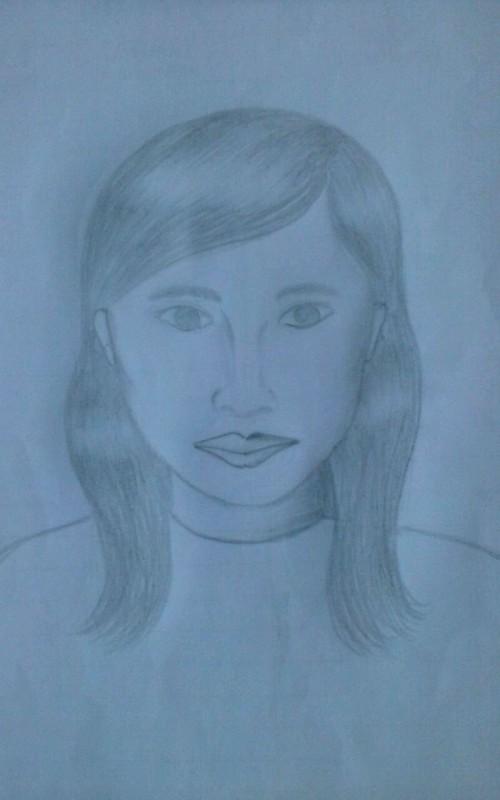 Gambar sketsa wajah yang diduga wajah korban mutilasi (ist)