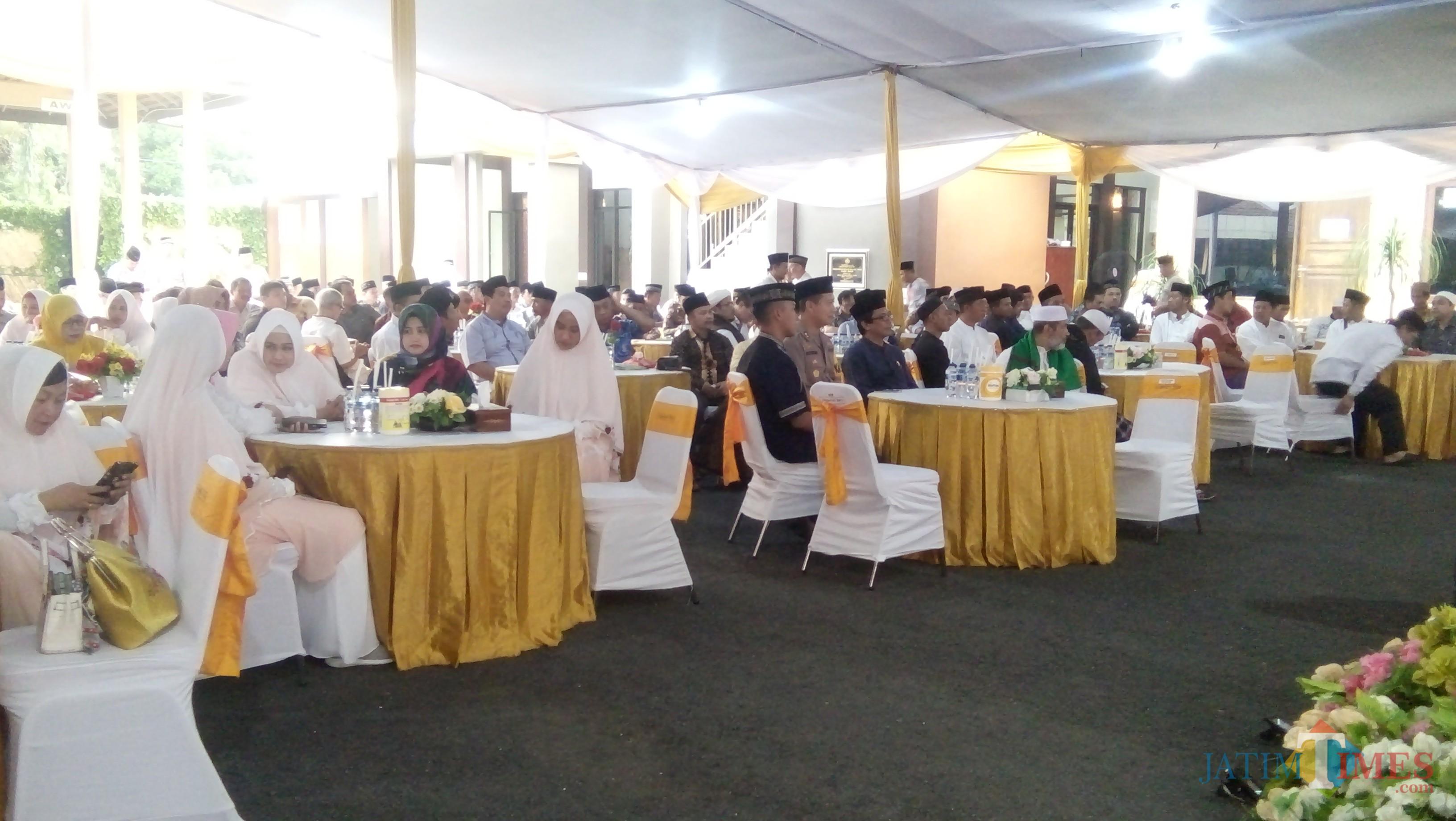 suasana acara buka puasa bersama di Mapolres Jember (foto : Moh. Ali Makrus / Jatim TIMES)
