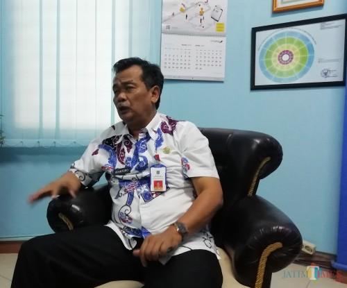 Kepala DPMPTSP Kabupaten Malang Iriantoro. (Nana)