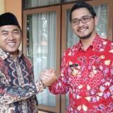 Ketua DPRD menghadiri pelantikan pejabat Pemkot Pasuruan.