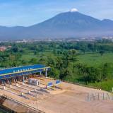 Lansekap Tol Malang-Pandaan di gerbang Singosari, Kabupaten Malang. (Foto: Setneg RI)