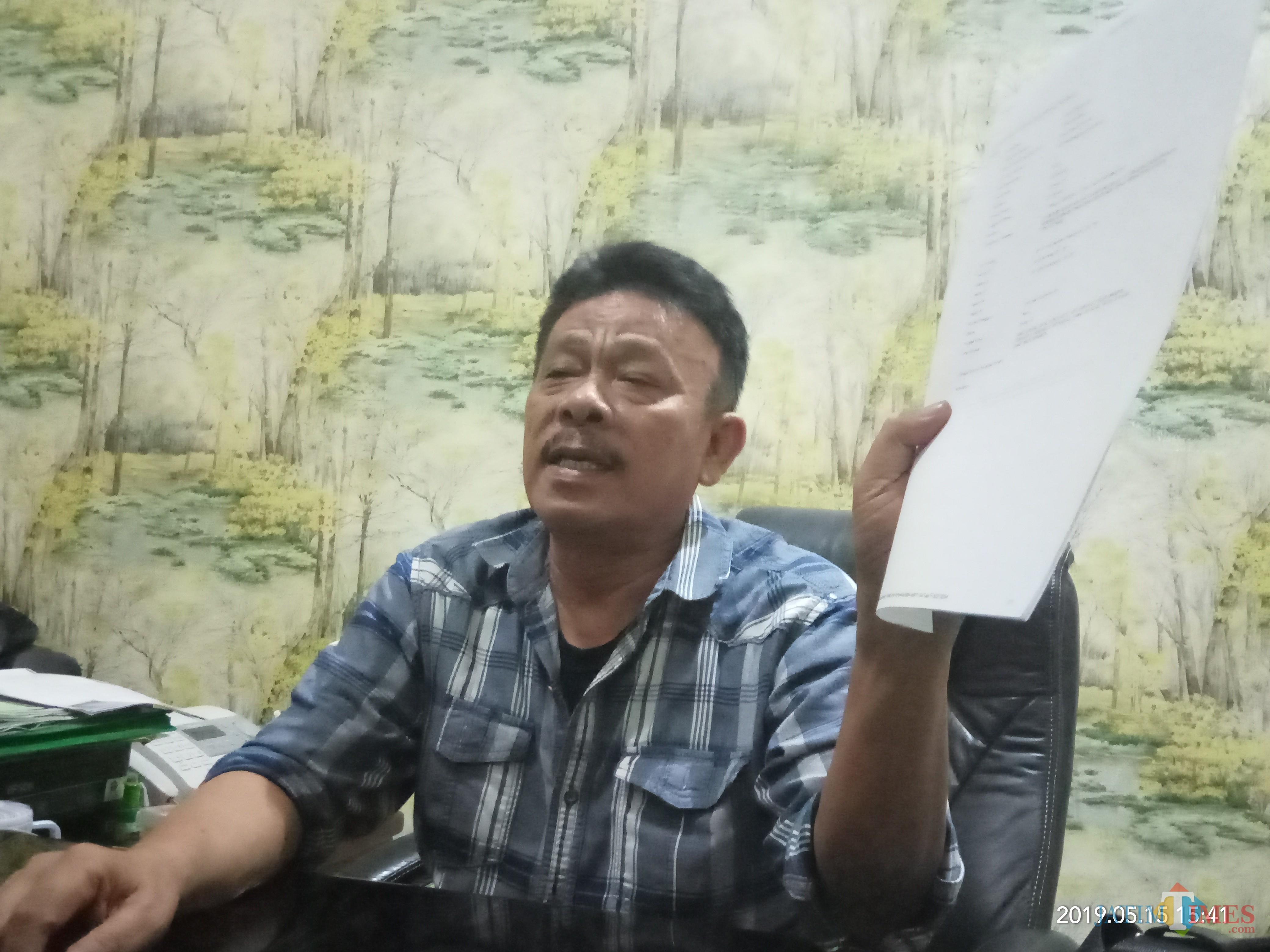 Ms Alhaidary,  pengacara PPLP PT PGRI kubu Soedja'i. (Anggara Sudiongko/MalangTIMES)