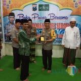 Silaturahmi jajaran pejabat utama Polrestabes Surabaya ke kantor PCNU Surabaya