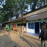 Warung di utara alun-alun Kota Probolinggo yanag belum diketahui nasibnya (Agus Salam/Jatim TIMES)