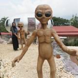 Penampakan UFO Park, di Desa Pandesari, Kecamatan Pujon, Kabupaten Malang (Arifina Cahyanti Firdausi/MalangTIMES)